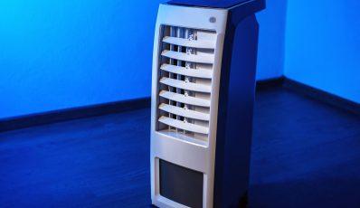 Klimaanlage und Verdunstungskühler