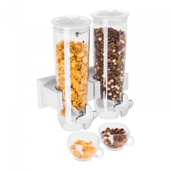 B-WARE Cereal Dispenser 3 L - 2 containers
