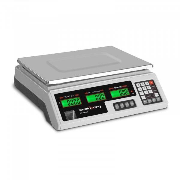 Price Scale - 40 kg / 2 g - 33.9 x 23.3 x 0.6 cm