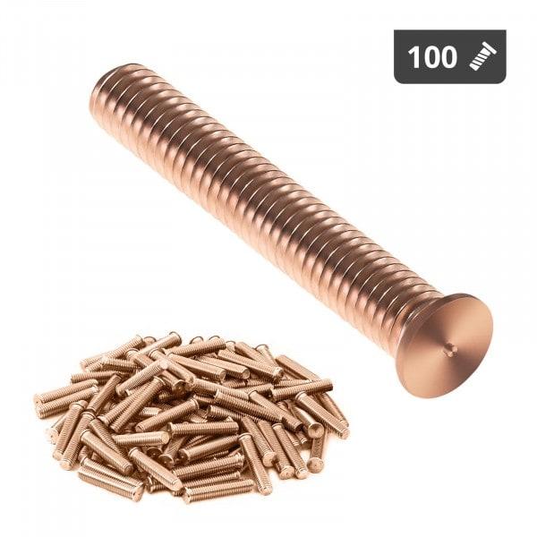 Stud Welder Set - M3 - 20mm - steel - 100 pieces