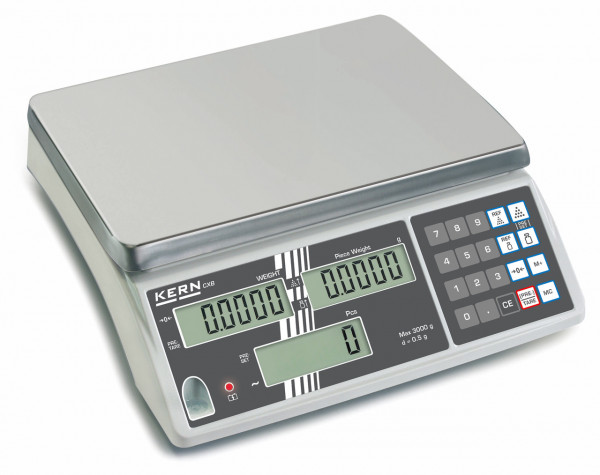 KERN Counting Scales - 3000 g / 1 g - optionally calibrated