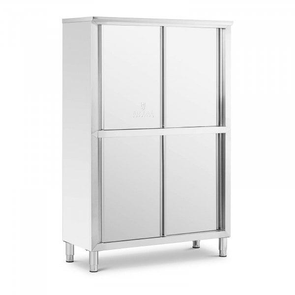 Stainless steel cupboard - 120 cm