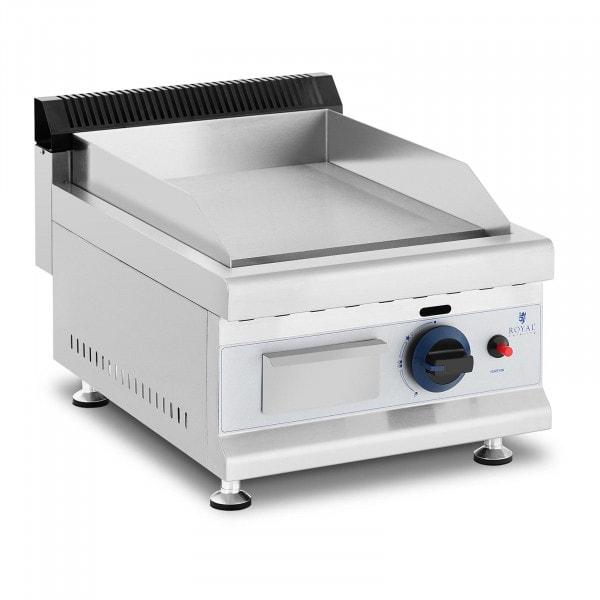 Gas Griddle - 35 x 40 cm - smooth - 3,100 W - propane / butane - 0.02 bar