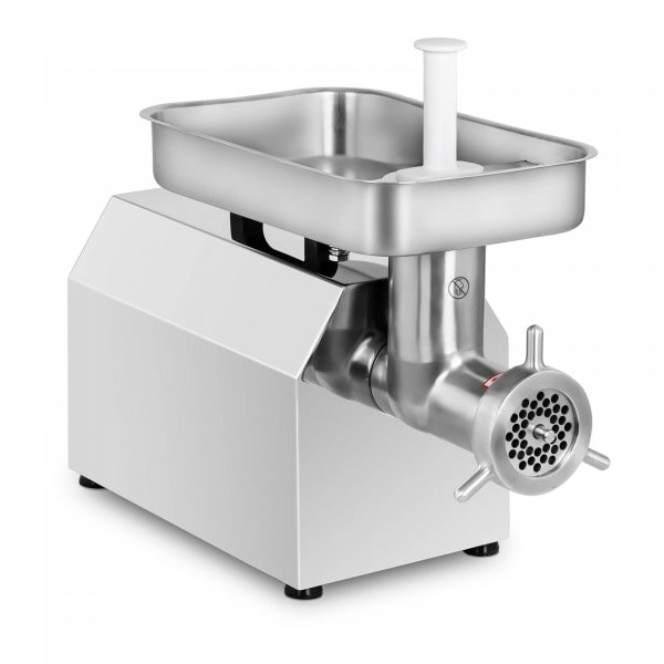 Stainless Steel Meat Grinder - 480 kg/h - incl. 3 sausage attachments