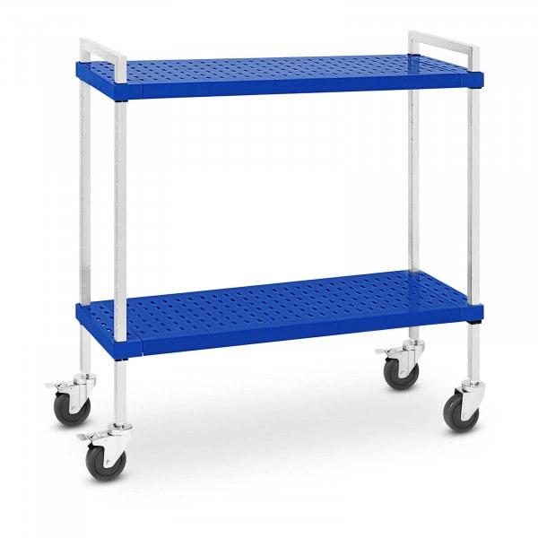 Service Cart - 2 shelves - 50 kg - 37.5 x 104 cm - ideal for GN pans