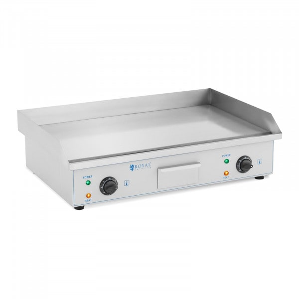 Double Electric Griddle - 73 cm - Royal Catering - smooth - 2 x 2,200 W