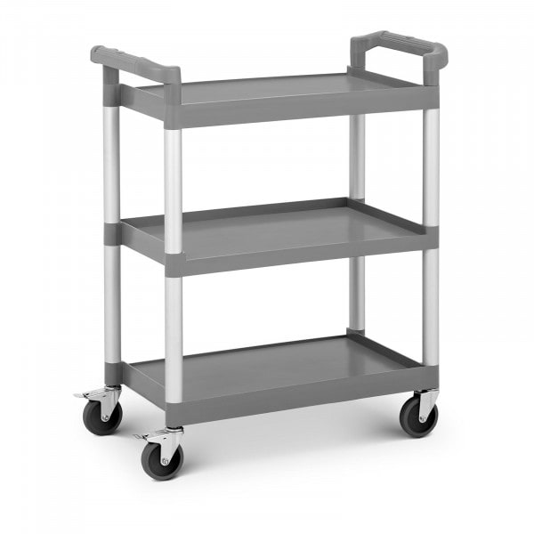 Plastic Service Trolley - 3 Shelves - up to 60 kg