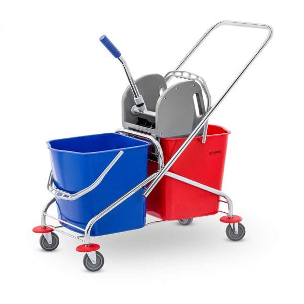 Cleaning Trolley - 2 buckets - 48 L