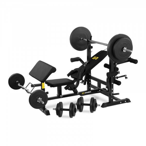 Multifunctional Weight Bench Set incl. Weights