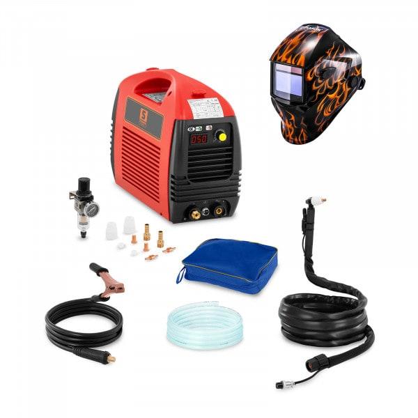 Welding Set Plasma Cutter - 50 A - 230 V - Basic + Welding helmet – Firestarter 500 - ADVANCED SERIES