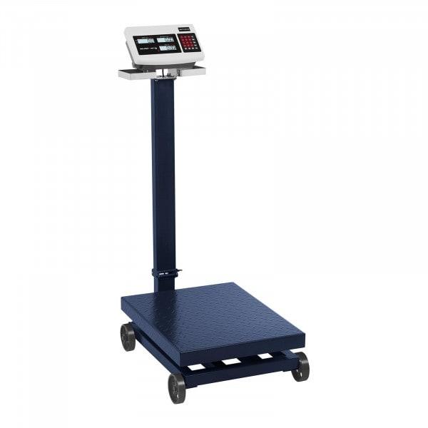 Platform Scale - 600 kg / 100 g - LCD - rolling