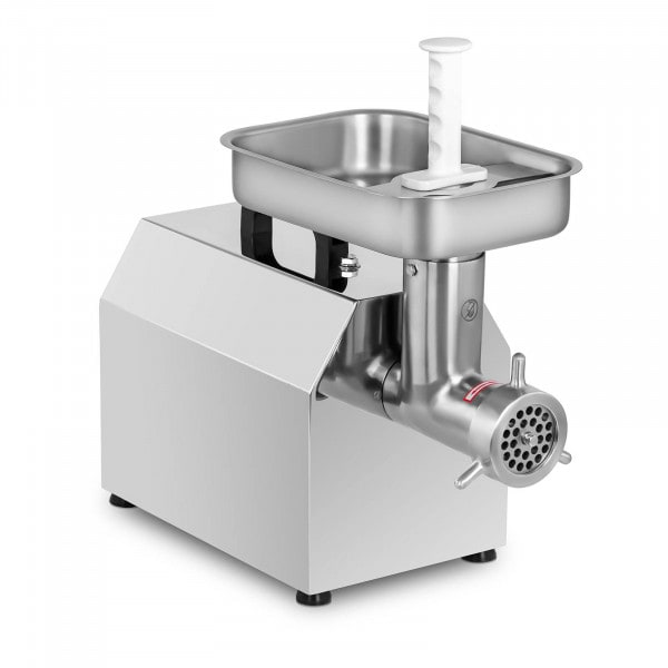 Stainless Steel Meat Grinder - 220 kg/h - incl. 3 sausage attachments