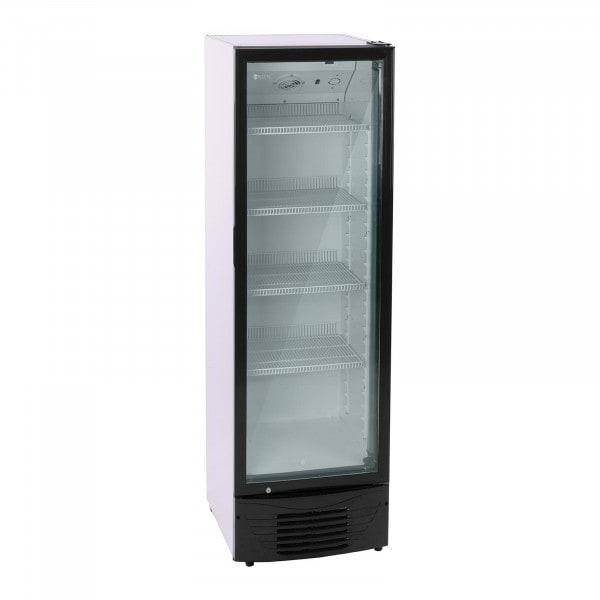 Commercial Drinks Fridge - 320 L - LED - Black Frame