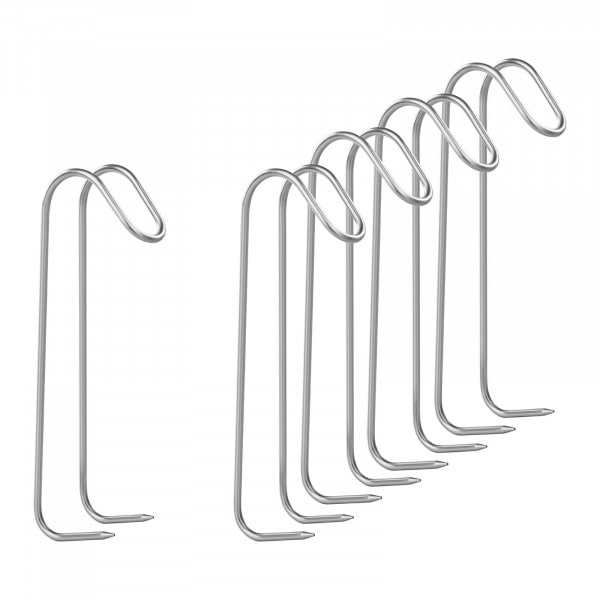 Smoker Hooks Set of 5 - with Two Pointed Prongs