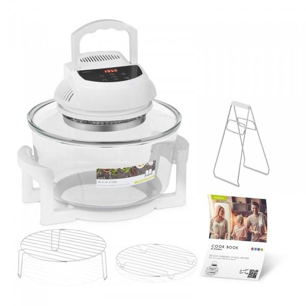B-WARE Halogen Oven Cooker with Extender Ring - digital - 250 °C - 180 min