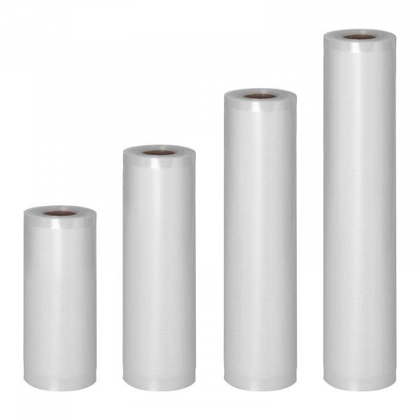 Vacuum Seal Bags - 4 Rolls - 24 m - 15-30 cm