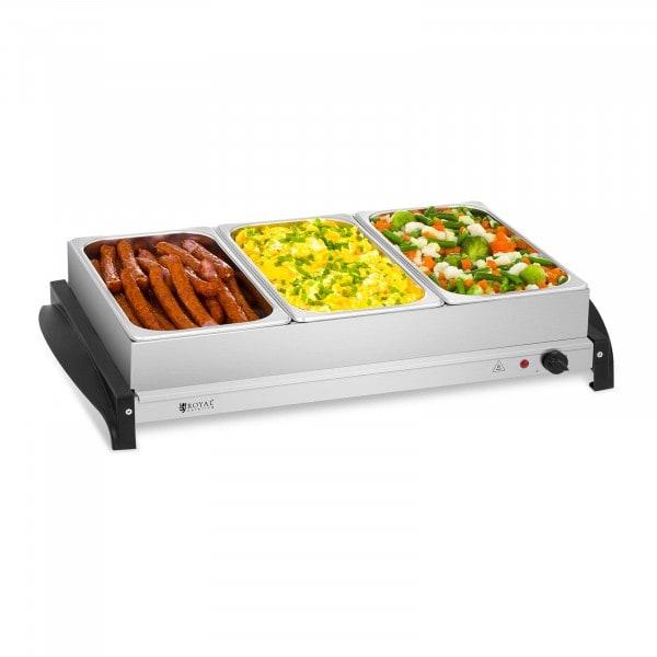Warming Tray - 3 x 2 L - 400 W
