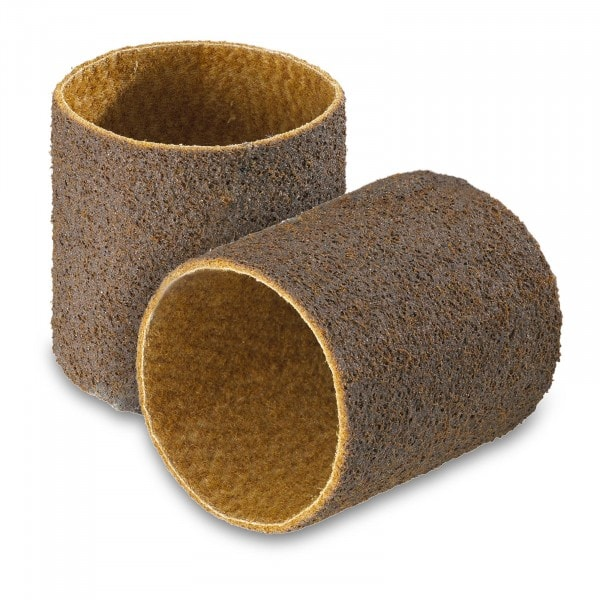 Sanding belt 2 set - Nylon sanding fleece - rough graining
