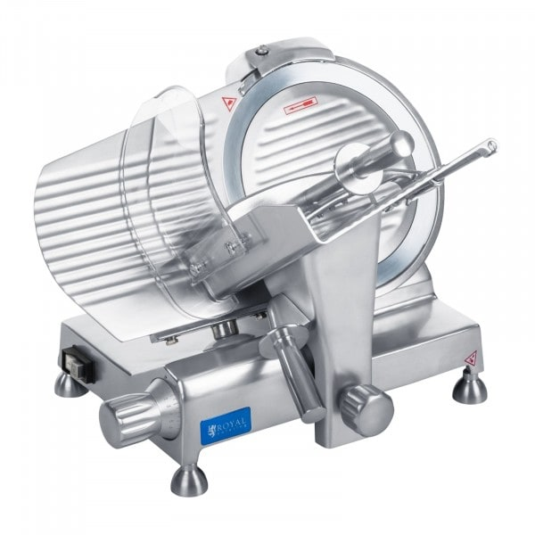 Factory seconds Meat Slicer - 250 mm - up to 12 mm - aluminium handles