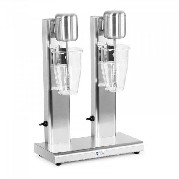 Milkshake Machine - double - 2 x 1 L - 15,000 rpm - Stainless steel