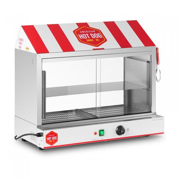 Hot Dog Steamer - 300 Sausages - 100 Buns - 2,400 W