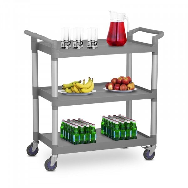 Factory second Serving Trolley - 3 Shelves - Up to 180 kg
