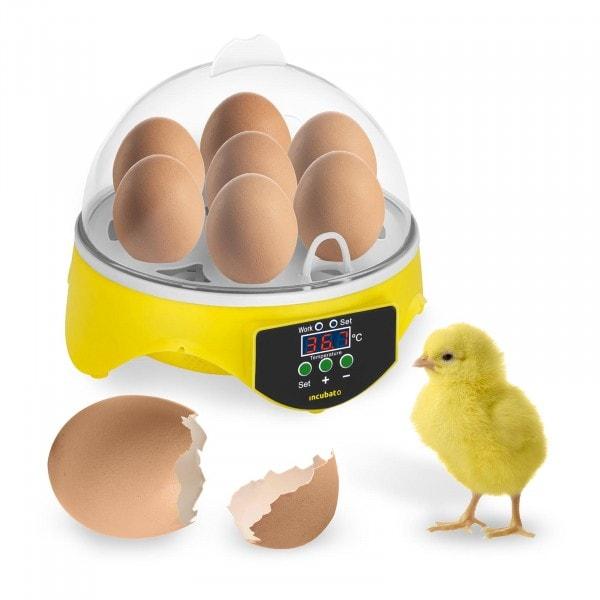 Egg Incubator - 7 Eggs - Including Egg Candler