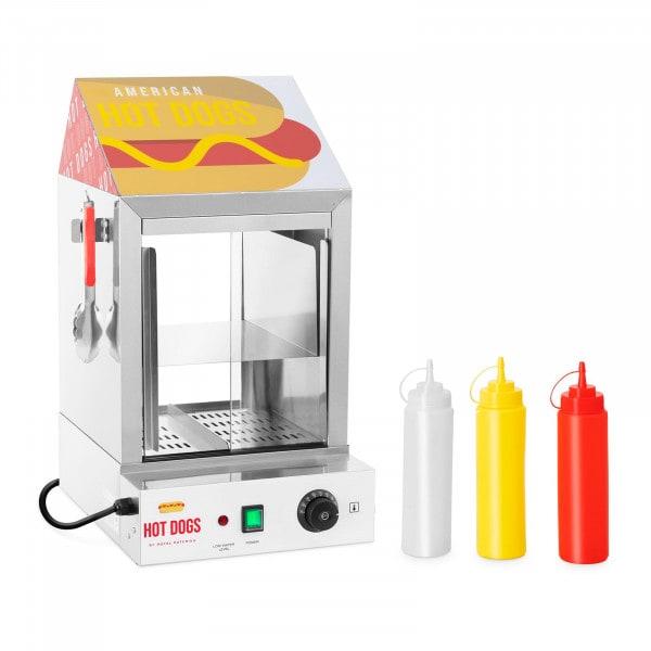 Hot Dog Steamer - 100 hot dogs - 25 buns - 1,000 W