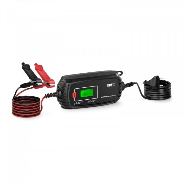 Battery Maintenance Charger - 6/12 V - 2/4 A - 4 charging modes