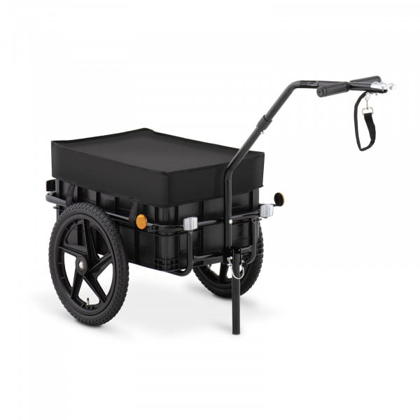 Bike Cargo Trailer - 35 kg - reflectors - tarpaulin