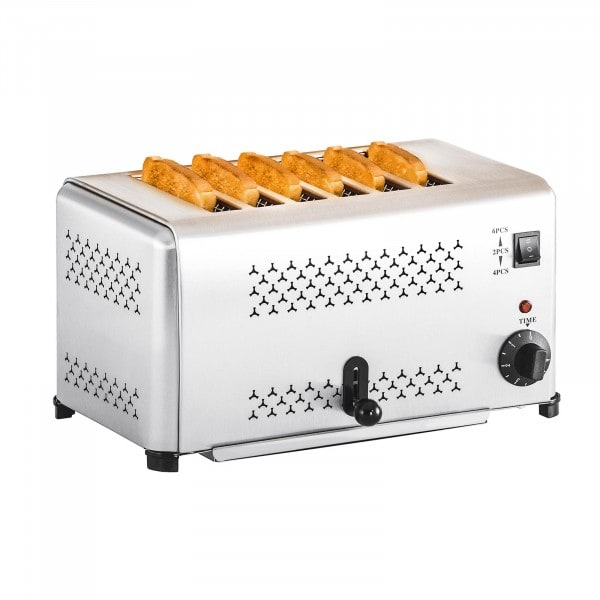 Factory seconds Electric Toaster 6 Slices