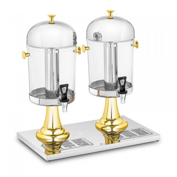 Juice Dispenser - 2 x 8 L - cooling inserts