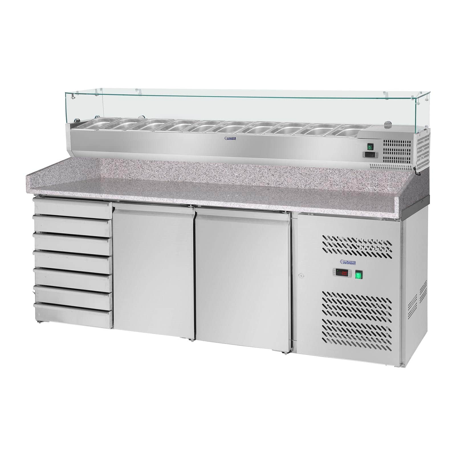Pizza Cooling Tables