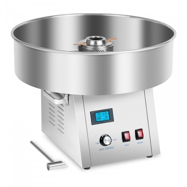 Candy Floss Machine - 62 cm - stainless steel - vibration absorption