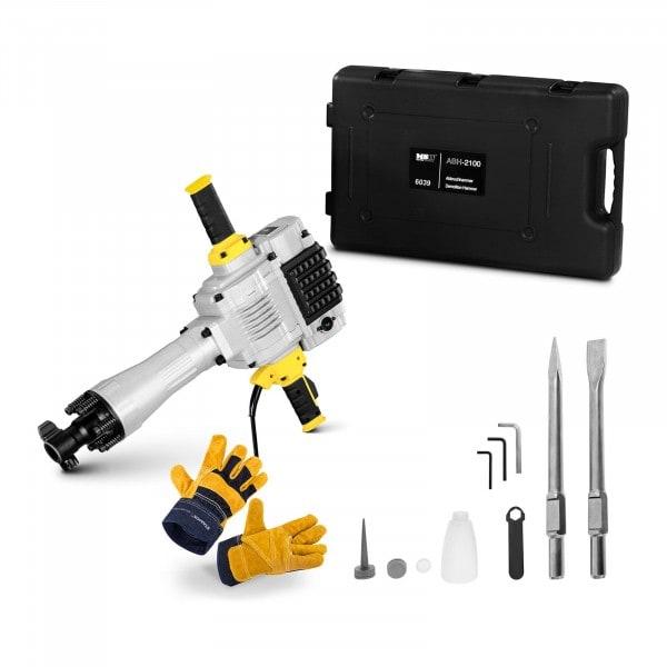 Demolition Hammer Set ABH-2100-SET - Work gloves - 2,100 W