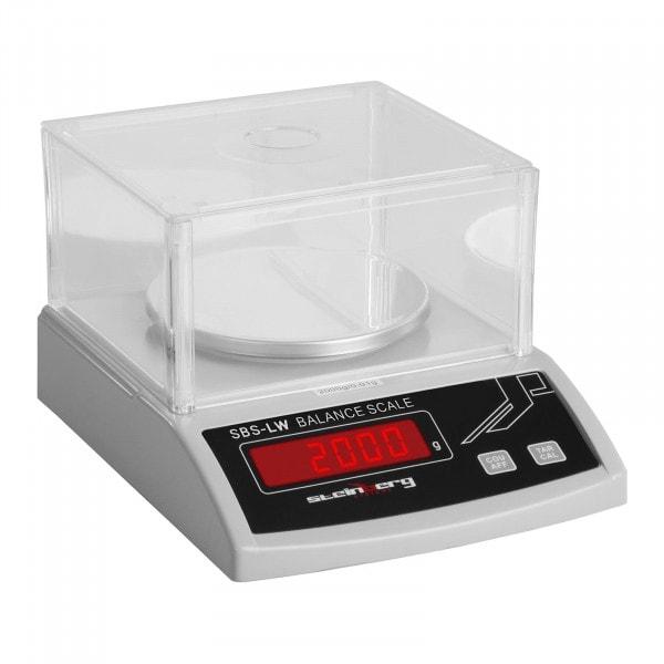 Precision Scale - 2000 g / 0.01 g - White