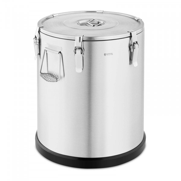 Thermos Container - 60 L - Royal Catering - Stainless Steel