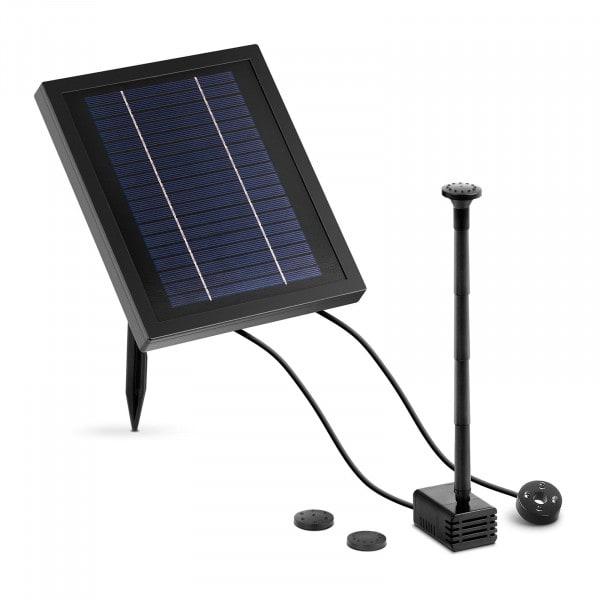 Solar Powered Pond Pump - 250 L/hr - LED