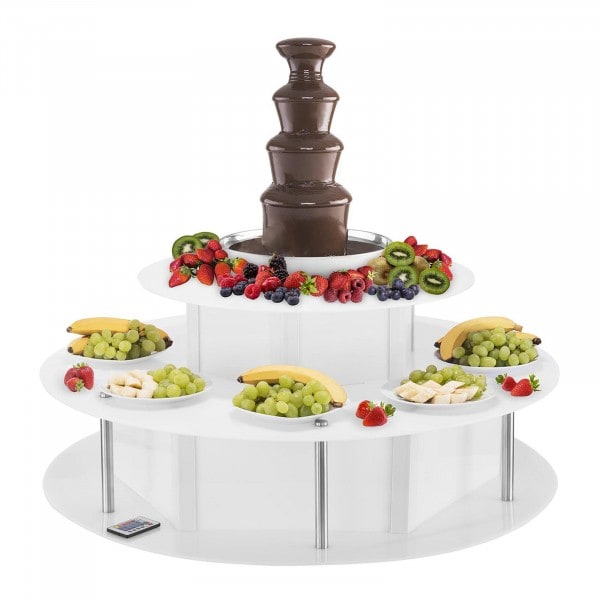 Chocolate Fountain Set - 4 Tiers - 6 kg plus Luminous Base