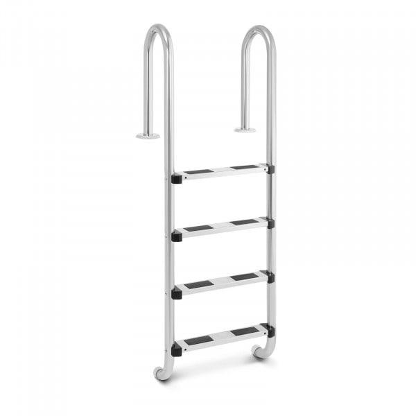 Pool ladder - 4 Steps - Narrow stile bow