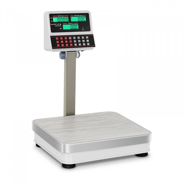 B-WARE Digital Weighing Scale with Raised LCD Display - 60 kg / 5 g