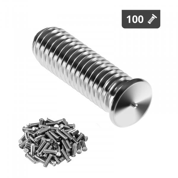Stud Welder Set - M5 - 15mm - stainless steel - 100 pieces