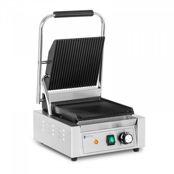 Contact Grill - 1,800 W - ribbed