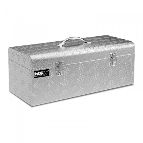 B-WARE Aluminium Tool Box - 57.5 x 24.5 x 22 cm - 31 L