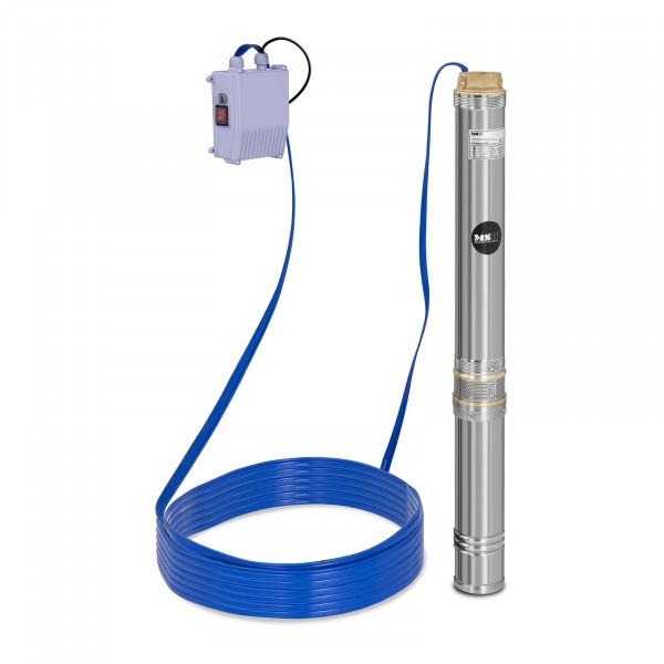 Well Pump - 10.800 L/h - 1.100 W - Stainless Steel