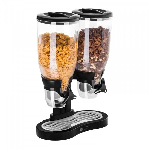 Cereal Dispenser - Double - 6 Litres