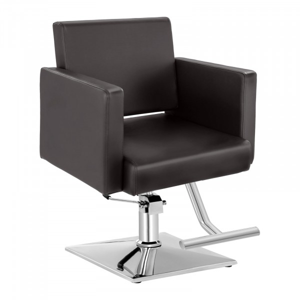 Barber Chair with Footrest BEDFORD BROWN