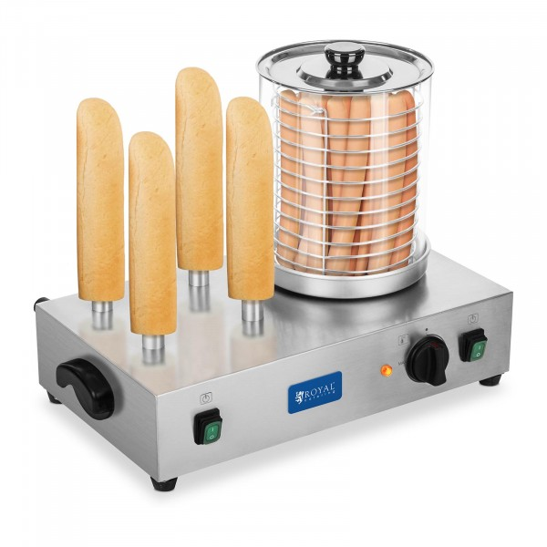 B-WARE Hot Dog Maker - including Toasting Rods