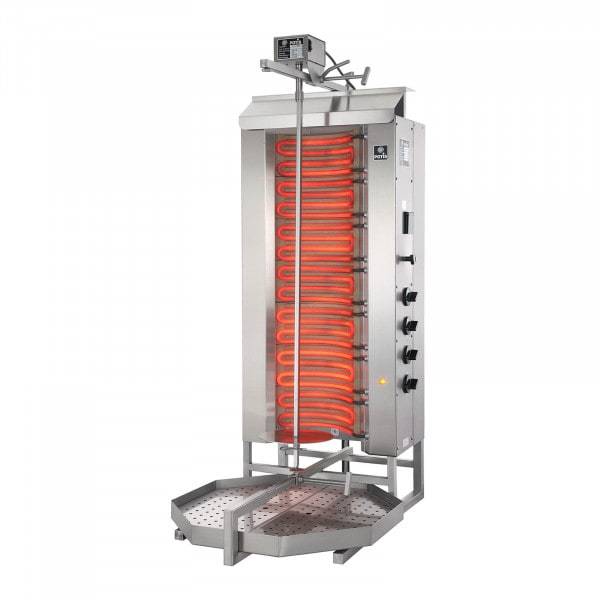 Kebab Grill - 10,500 W - up to 80 kg of meat