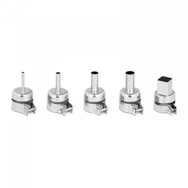 Set of 5 Hot Air Nozzles